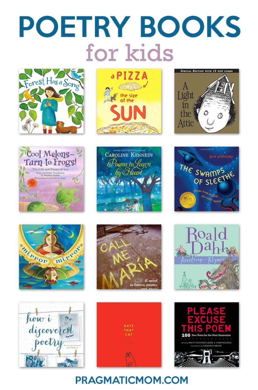 Top 10: Best Poetry Books for Kids