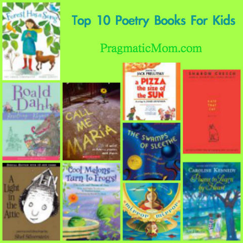 poetry books for kids to read, best poetry for kids, best poetry books for kids, kids poetry books