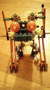 K'NEX motorized robot toy