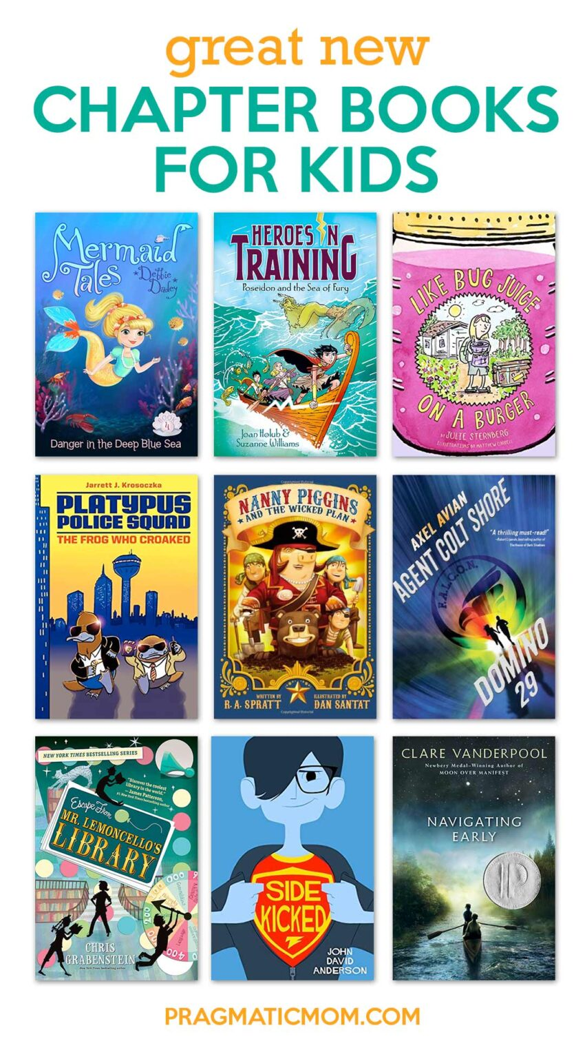 Great New Chapter Books for Kids
