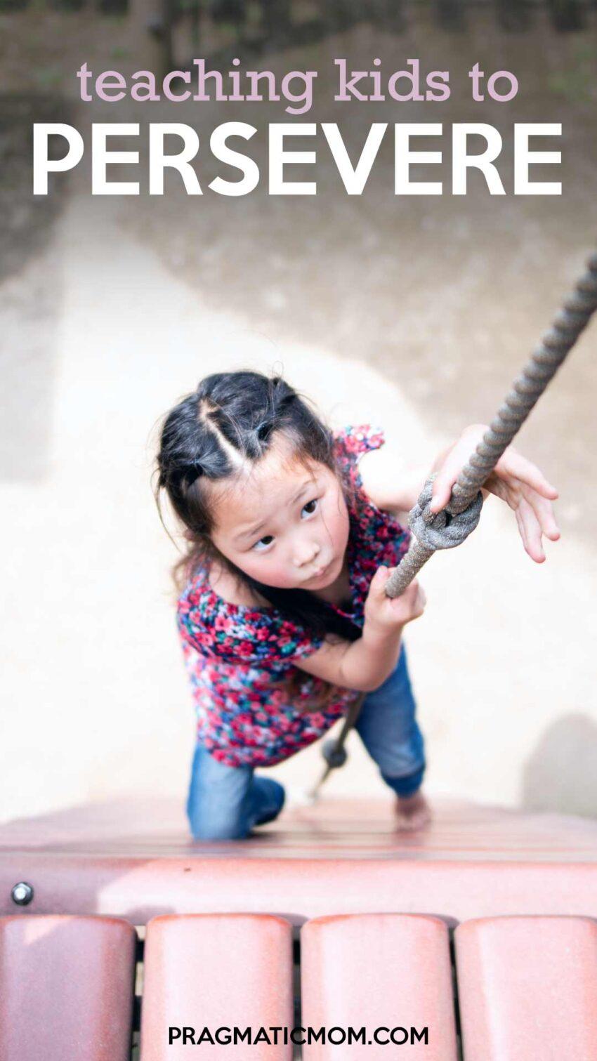 Teaching Perseverance to Children