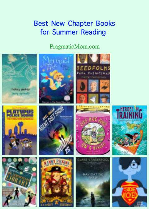 best new chapter books for kids, best books for kids, best summer reading books for kids, best new chapter books