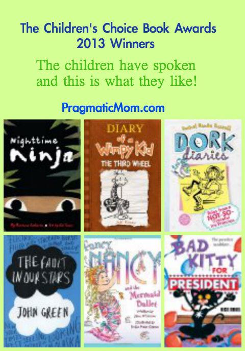 children's choice book awards 2013