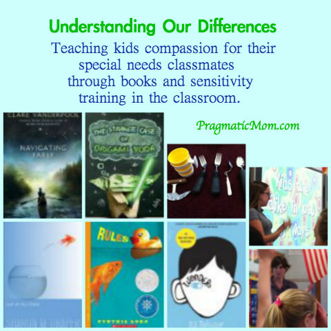 teaching kids compassion for special needs classmates, Understanding Our Differences, books for kids with special needs characters