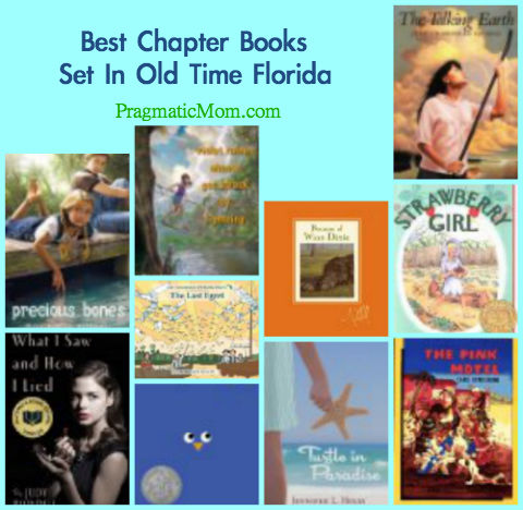 best chapter books set in Florida, best old Florida books for kids, best books for kids set in Florida