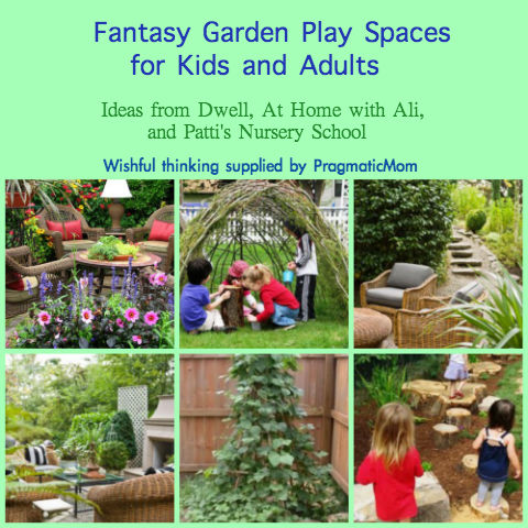 garden rooms for kids, garden play spaces for kids,
