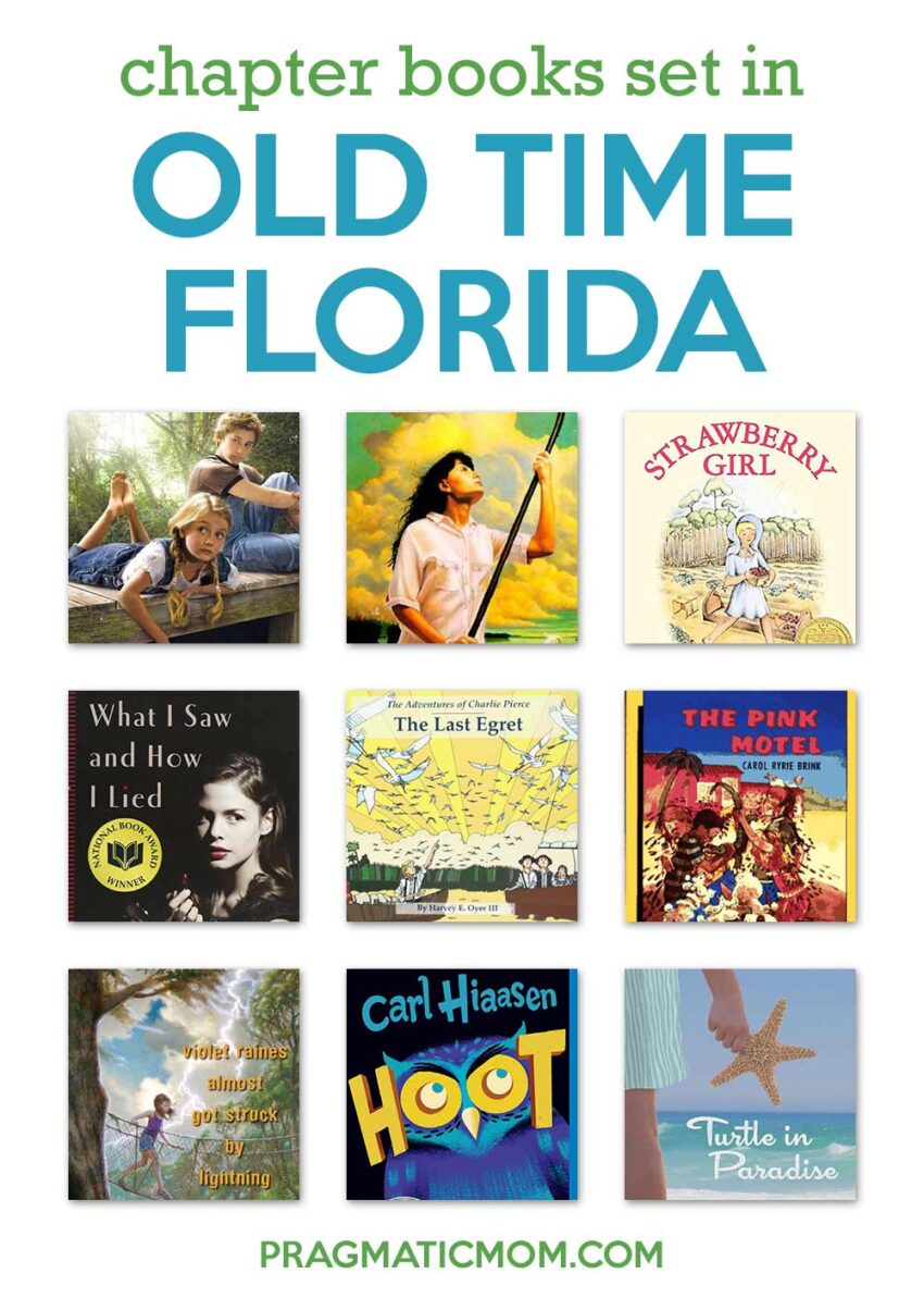 Best Chapter Books Set in Florida's Past