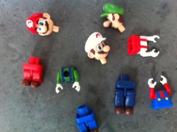 Mario toys from K'NEX