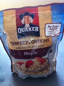 Quaker oatmeal, epic adventures,