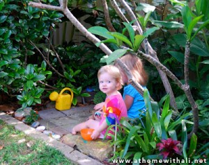 a secret garden for kids