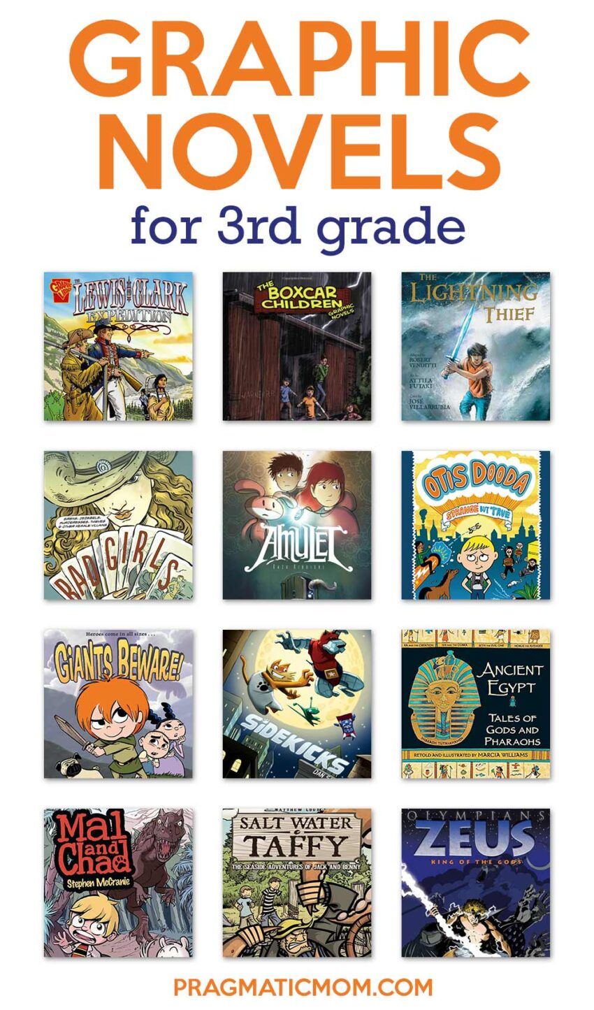 Graphic Novels for 3rd Grade
