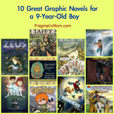 10 Great Graphic Novels For 3rd Grade Pragmaticmom