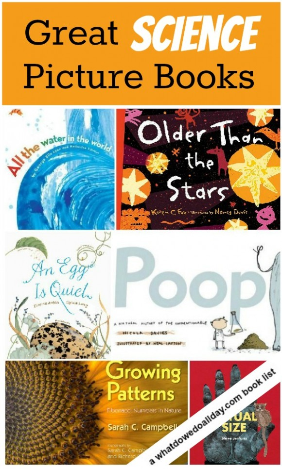 science book list for kids