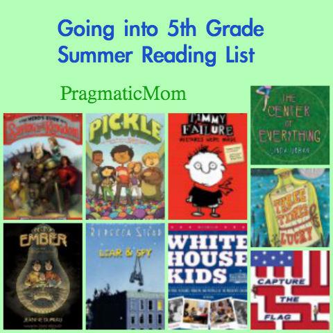 My sons 4th grade reading list pragmaticmom rising 4th grade summer reading list fandeluxe Gallery