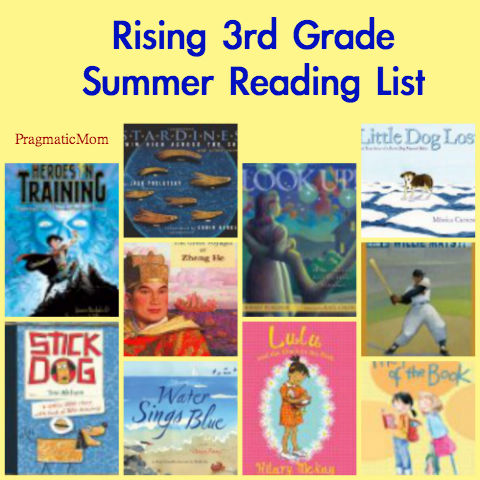3rd grade summer reading list, 4th grade reading list, 4th grade summer reading list