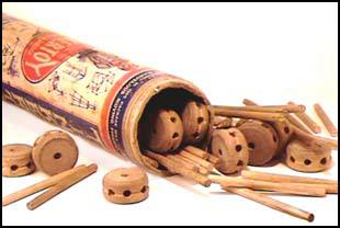 original tinkertoys, original wooden tinker toys