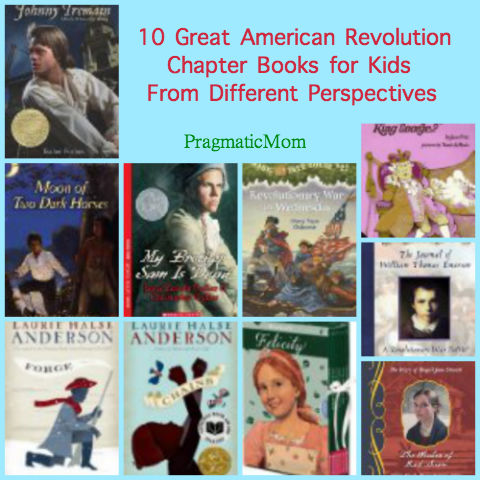American Revolution chapter books for kids