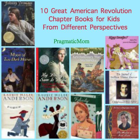American Revolution chapter books for kids