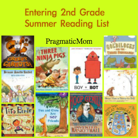 entering 2nd grade summer reading list, rising 1st grade summer reading list, 2nd grade book list, 1st grade book list