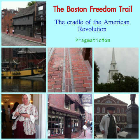 Boston Freedom Trail, The Freedom Trail