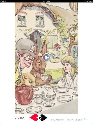 Alice in Wonderland tea party, Alicewinks