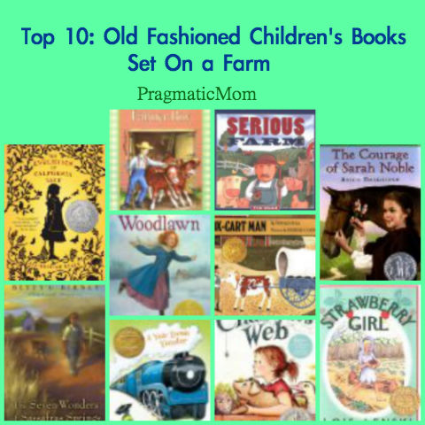 best books for kids set on a farm, farm chapter books for kids, farm picture books for kids