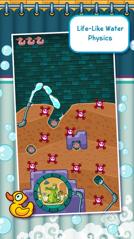 Where's My Water, water supply app for kids