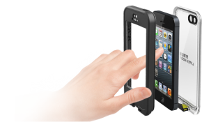 iPhone 5 Lifeproof nuud case