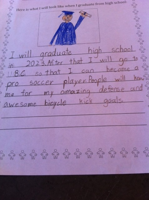 2nd grade career goals