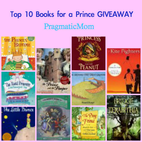 books for a prince, prince books, picture books for a prince
