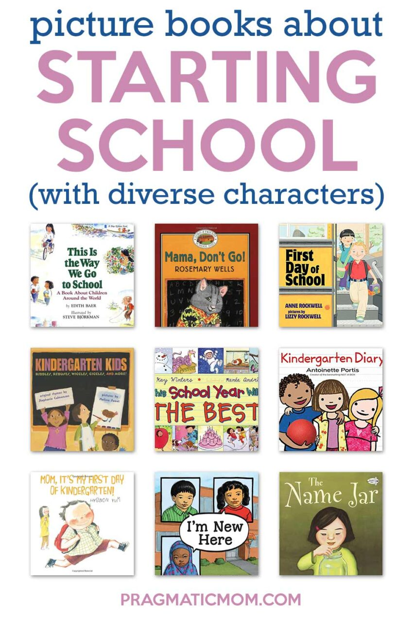 Multicultural Starting School Books for Kids