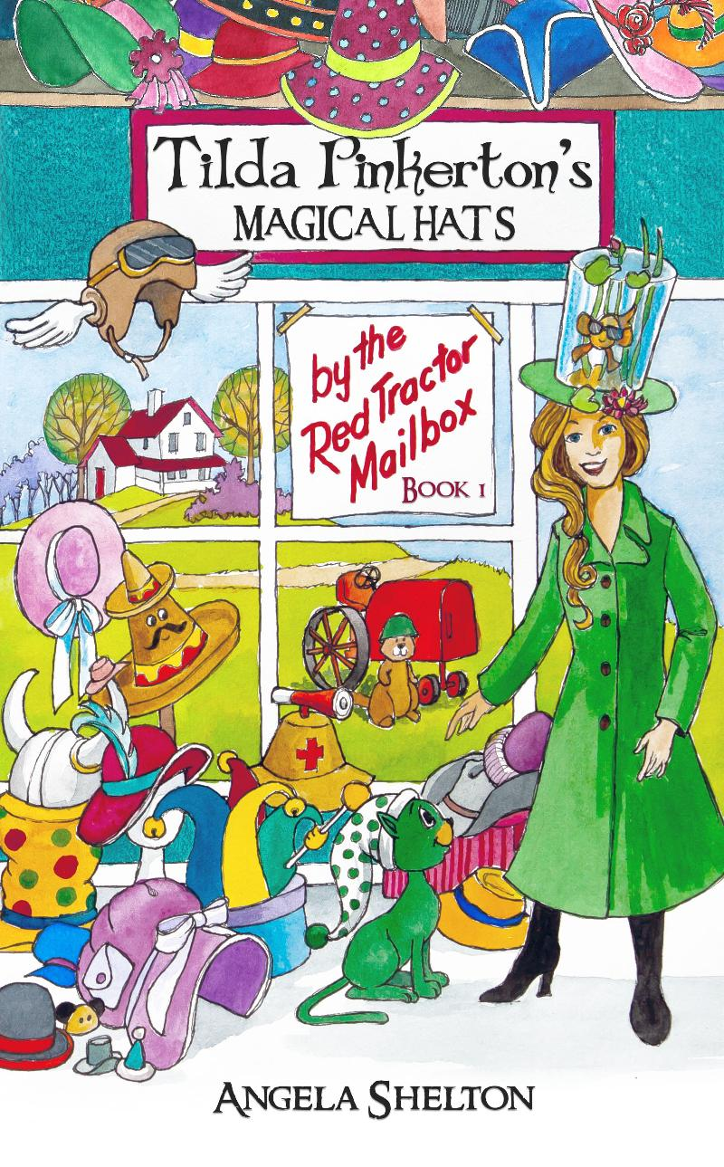 vocabulary building chapter book, Tilda Pinkerton's Magical Hats