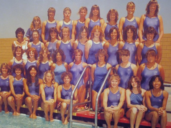 Los Alamitos High School Swim Team 1981