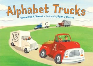 Alphabet Trucks by Samantha Vamos giveaway