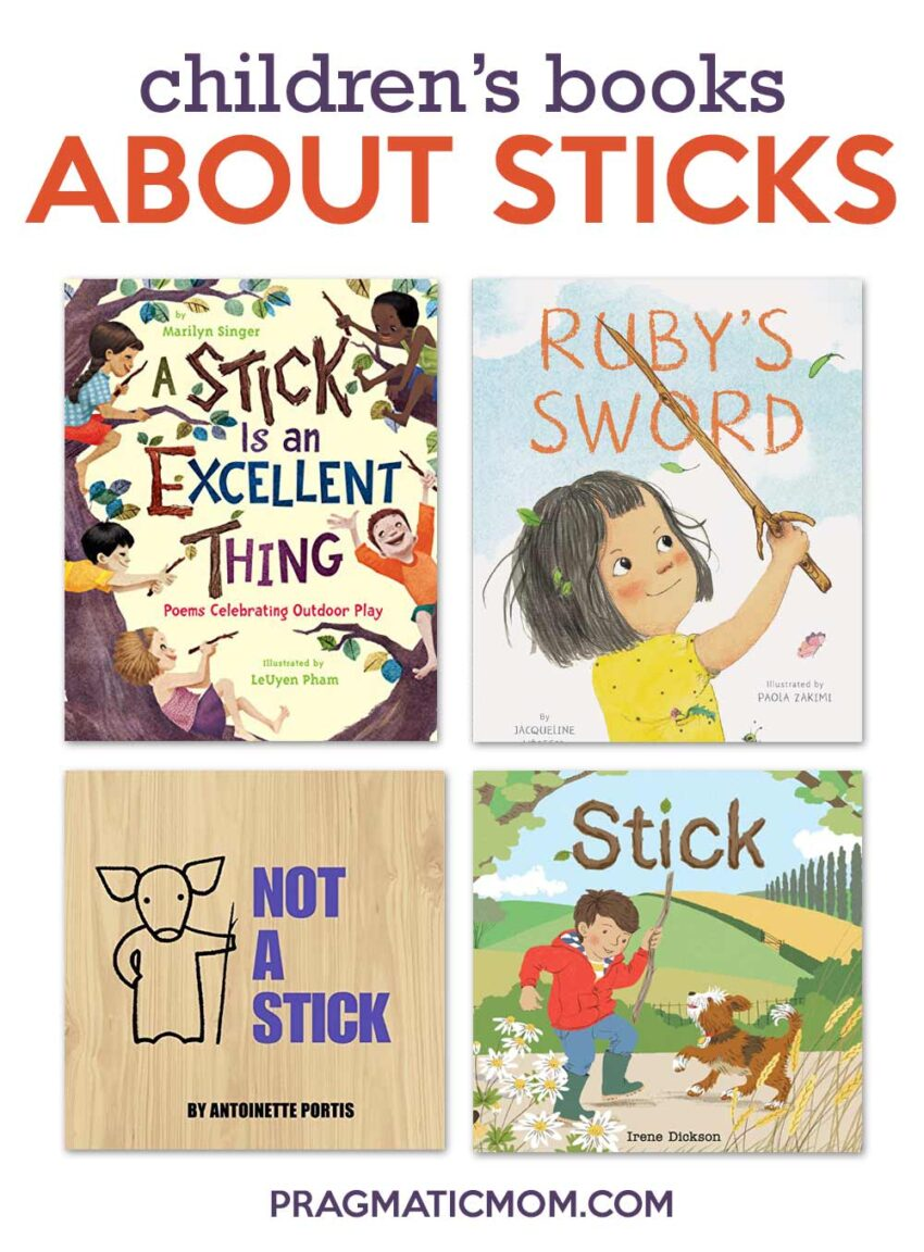 Children's Books about Sticks