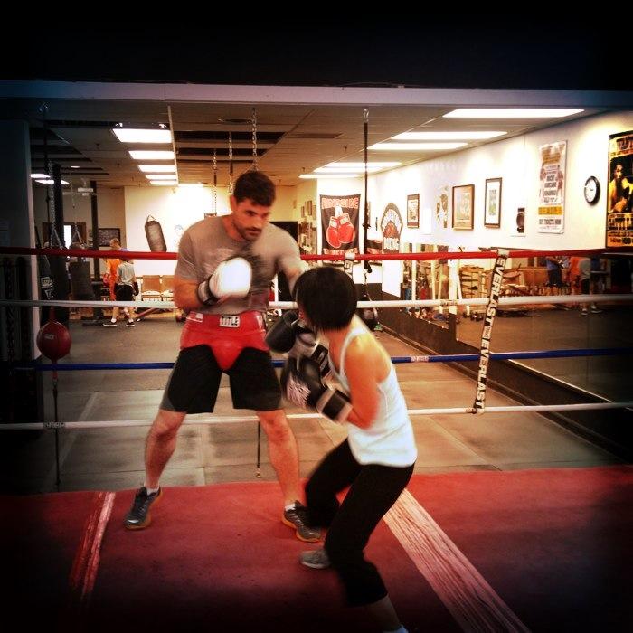 Pragmatic Mom, path to pugilism, mom boxing, Nonantum Boxing Club, Marc Gargaro,
