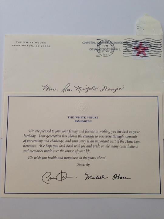 presidential birthday greeting,