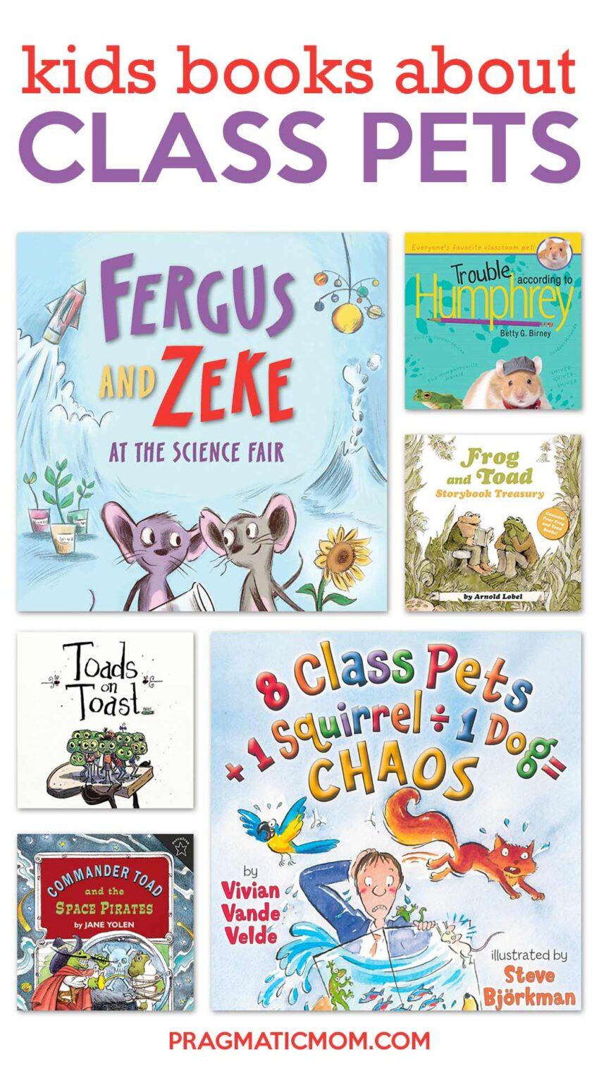 Children's Books about Class Pets