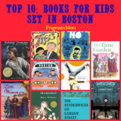 best books for kids set in Boston
