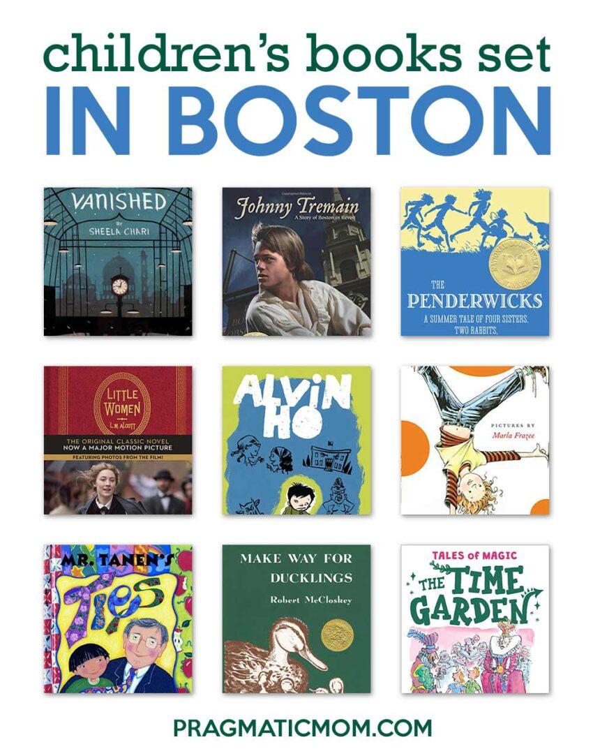 Children's Books About Boston