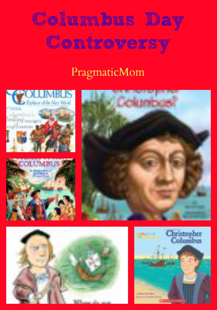 Columbus Day controvery, Columbus Day songs, Columbus Day books for kids