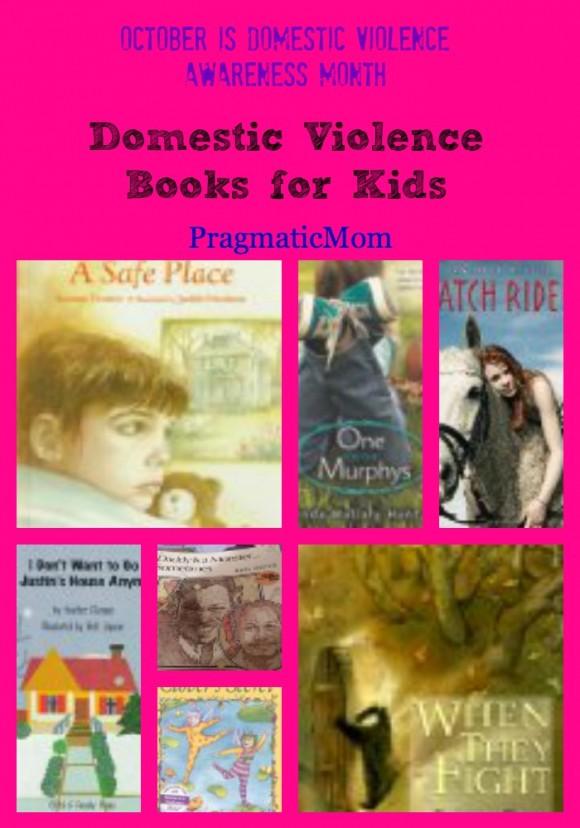 Domestic Violence books for kids