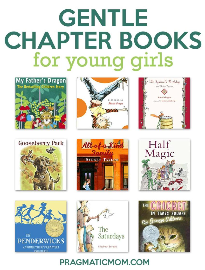 Gentle Chapter Books for Young Girls