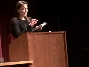 Rebecca Stead, Liar and Spy, Guys Read Other Worlds, Leslie College