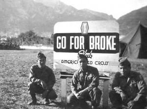 442nd go for broke Japanese American