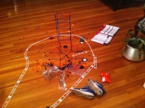 roller coaster K'NEX building toy