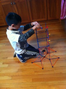 roller coaster K'NEX building toy