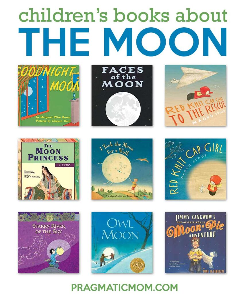 Moon Themed Books for Kids