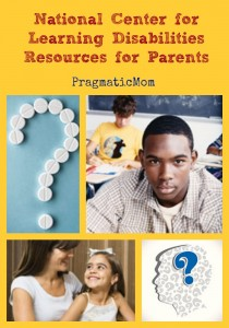 National Center for Learning Disabilities Resources for Parents