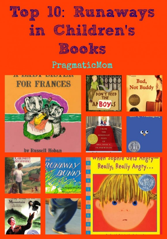 runaways in children's books